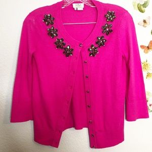 Kate Spade Embellished Sweater XS
